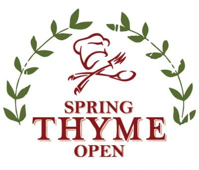 Spring Thyme Open PDGA B Tier Postponed logo