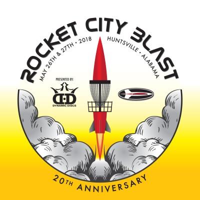 2018 Rocket City Blast Presented by Dynamic Disc logo