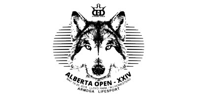Alberta Open - XXIV sponsored by Dynamic Disc logo