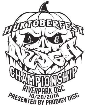 Huktoberfest Presented by Prodigy Disc (NUDGA Championship, Club Members Only) logo