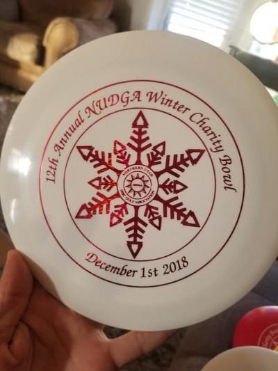 12th Annual NUDGA Winter Charity Bowl logo