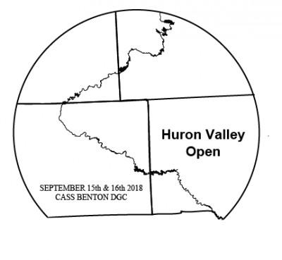 Huron Valley Open - Day 1 (MPO,MP50,MA2,MA4,MA40,MA55,FPO,FA2) logo