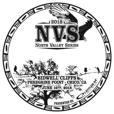 NVS: Bidwell Cliffs presented by Latitude 64 logo