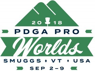 2018 PDGA Professional Disc Golf World Championships logo