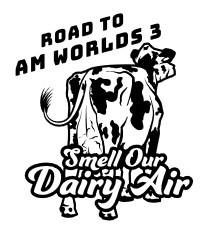 Road To Am Worlds 3: Smell Our Dairy Air logo