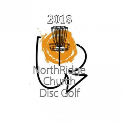 Discraft Ace Race sponsored by NRCDG logo