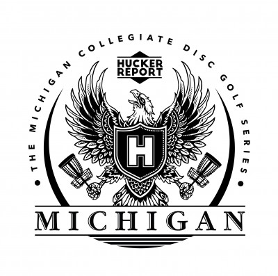 MICHÍGAN  COLLEGIATE DISC GOLF CHAMPIONSHIP logo