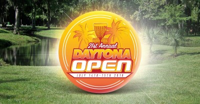 21st Annual Daytona Open Driven by Innova Presented by Disc Golf Center logo