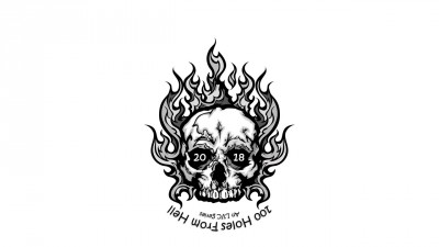 100 Holes From Hell logo