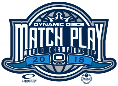 2018 Dynamic Discs Match Play World Championships presented by Ogio logo