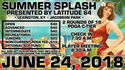 Summer Splash presented by Latitude 64 logo