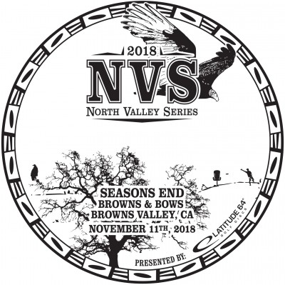 North Valley Series: Seasons End presented by Latitude 64 logo