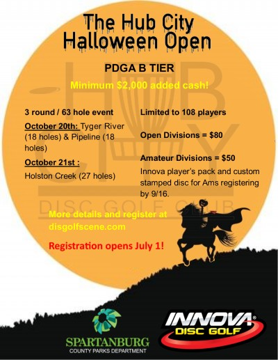 The Hub City Halloween Open driven by Innova logo