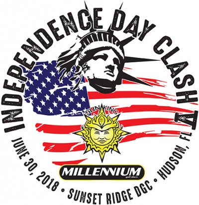 Sun King/Millennium present Independence Day Clash V logo