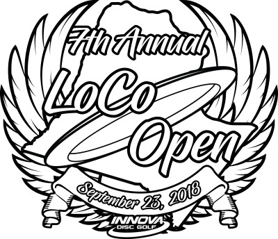 7th Annual LoCo Open - Driven by Innova logo