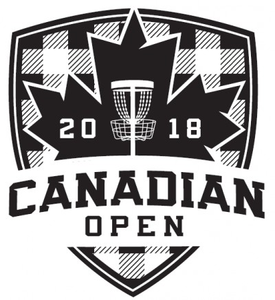 2018 Canadian Open presented by Prodigy Disc Canada logo