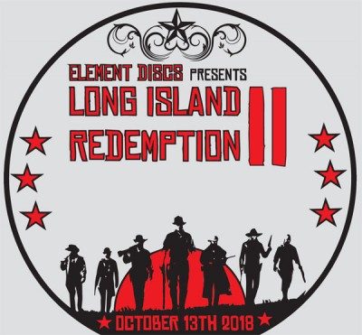 Element Discs' Long Island Redemption II sponsored by Dynamic Discs logo