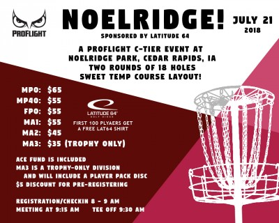 NOELRIDGE!  Sponsored by Latitude 64 logo