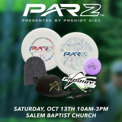 PAR2 presented by Prodigy Discs logo