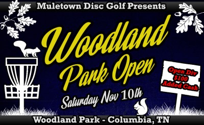 Woodland Park Open - Driven by Innova logo