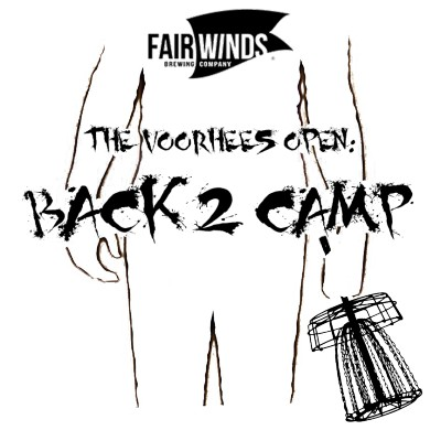 Fair Winds Brewing Company presents The Voorhees Open:  Back 2 Camp Driven by INNOVA logo