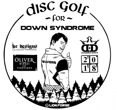 Q.O.F.F.S. #3 - Disc Golf for Down Syndrome logo
