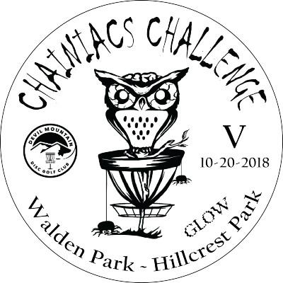 Chainiacs Challenge V logo