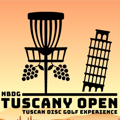 NBDG-X Tuscany Open 2021 - The Tuscan Disc Golf Experience logo