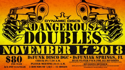5th Annual Dangerous Doubles presented by Latitude 64 logo