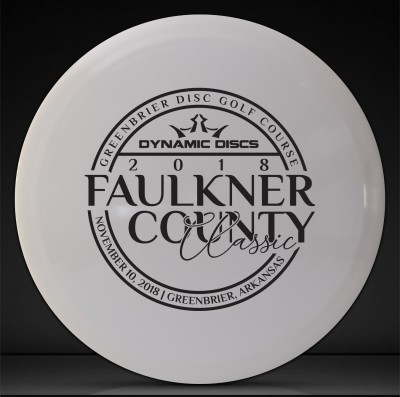 Faulkner County Classic Sponsored by Dynamic Discs logo