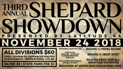 3rd Annual Shepard Showdown presented by Latitude 64 logo