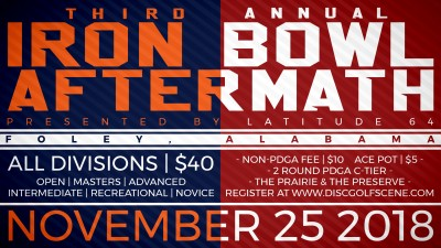 3rd Annual Iron Bowl Aftermath presented by Westside Discs logo