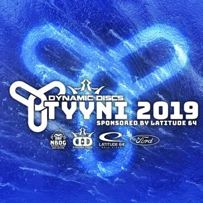 Dynamic Discs Tyyni 2019 sponsored by Latitude 64 logo
