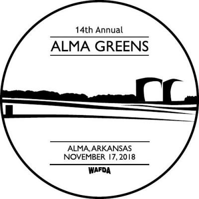 14th Annual Alma Greens logo