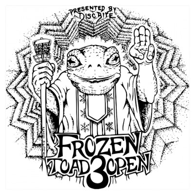 The 3rd Annual Frozen Toad Open logo
