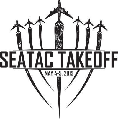 SeaTac Takeoff 2019 logo