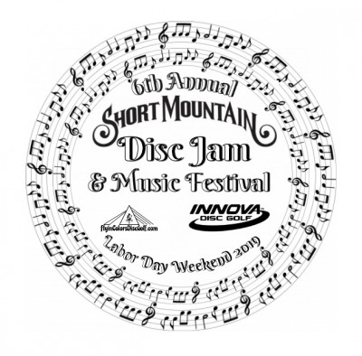 6th Annual Short Mountain Disc Jam logo
