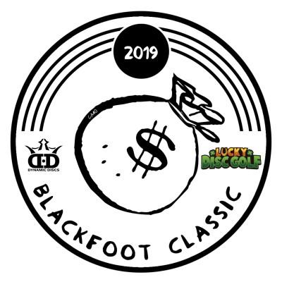 Blackfoot Classic sponsored by Lucky Disc Golf logo