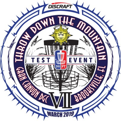 Discraft presents Sun King's Throw Down the Mountain VII (Weekend 1) logo