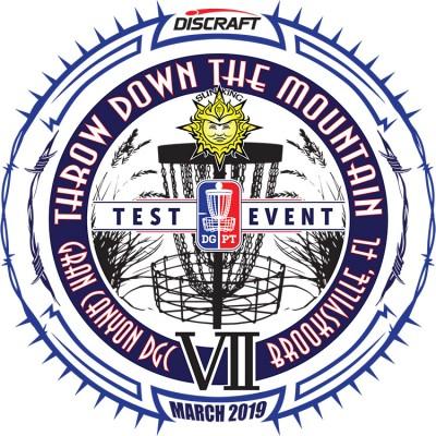 Discraft presents Sun King's Throw Down the Mountain VII (Weekend 3) logo