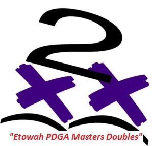 """Etowah PDGA Doubles"" logo"