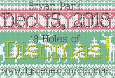 18 Holes of Discmas! logo