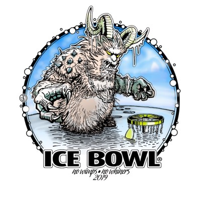 10th Annual Frigid Doe Ice Bowl logo