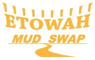 """Etowah Mud Swap"" Doubles logo"