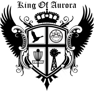 King of Aurora 2019, Presented by Elevated Disc Golf and MHDGC logo