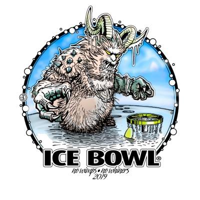 Burde Ridge Ice Bowl logo
