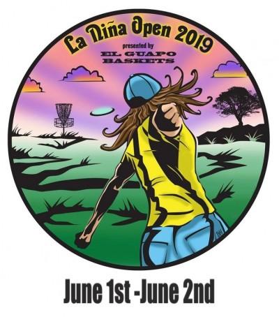 La Nina Open 2019 fueled by Dynamic Discs logo