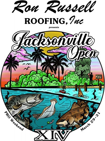 Ron Russell Roofing presents The 2019 Jacksonville Open - Pros logo