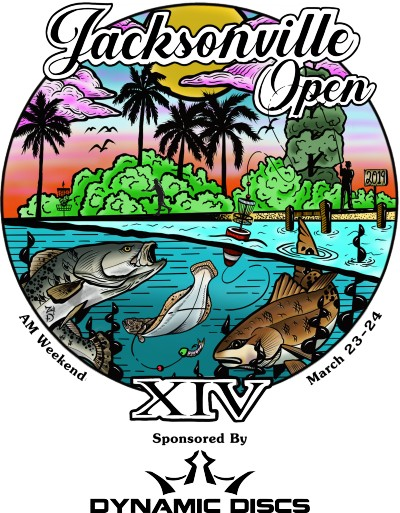 2019 Jacksonville Open - AMs Sponsored by Dynamic Discs logo
