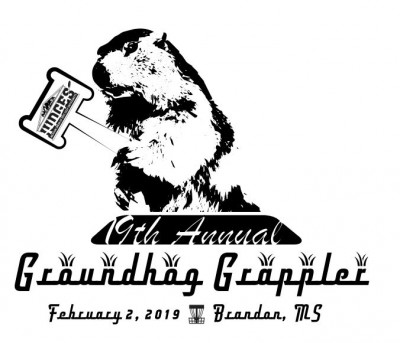 19th Annual Groundhog Grappler logo